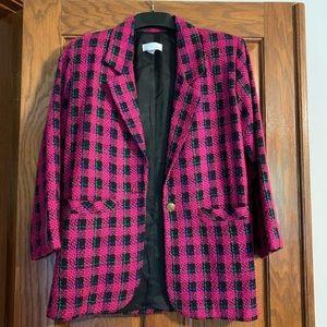 Vintage Wool-Blend Blazer/ Suit Jacket for Women